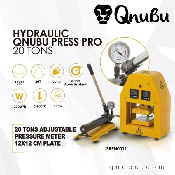 20 Tonne Hydraulic Press - Qnubu Press Pro