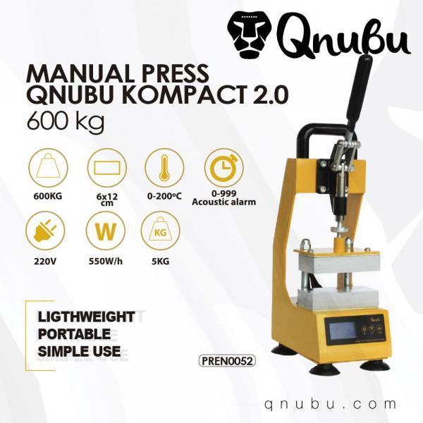 Manual 600 KG Extraction System Press by Qnubu